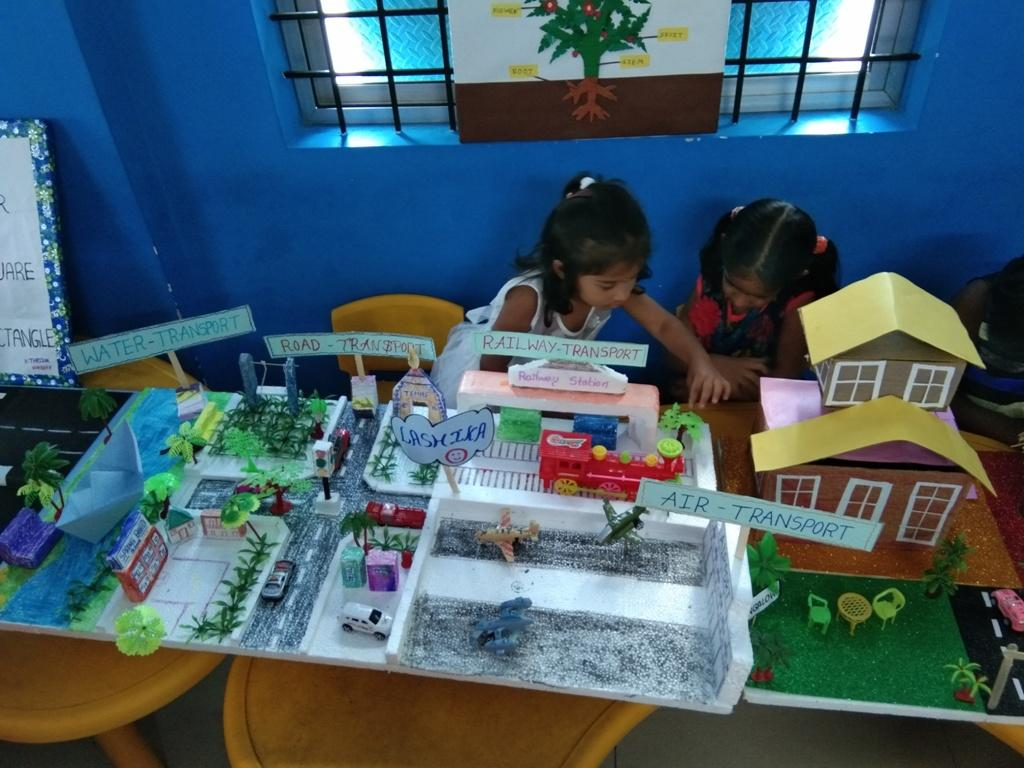 Pre School Project Work at Chittoor SBA Branch | Spring Board